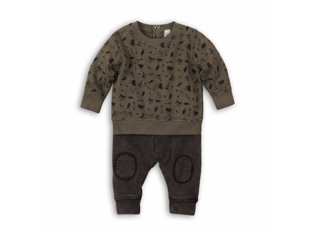 Chlapecký set  , mikina a tepláky Baby khaki