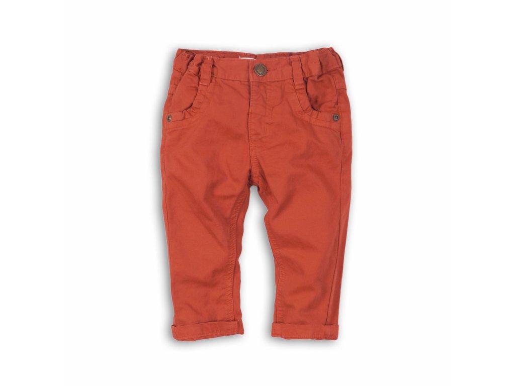 Kalhoty chlapecké Baby oranžová