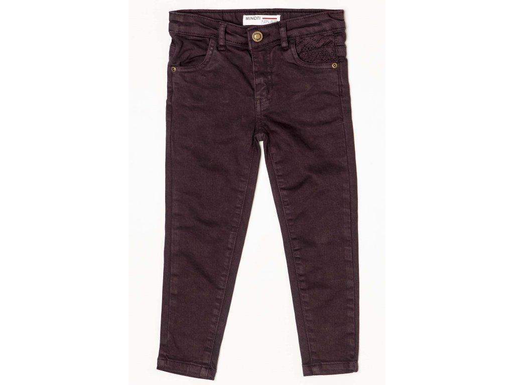 Kalhoty dívčí Baby fialová