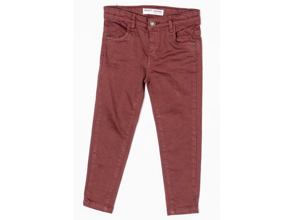 Kalhoty dívčí Kids červená