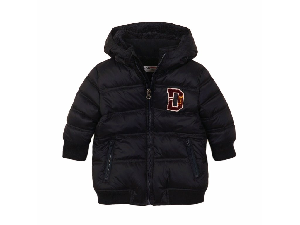 Bunda chlapecká zimní Puffa Baby černá