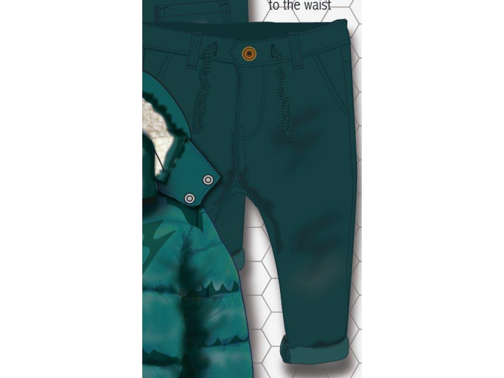 Kalhoty chlapecké s elastenem Kids modrá