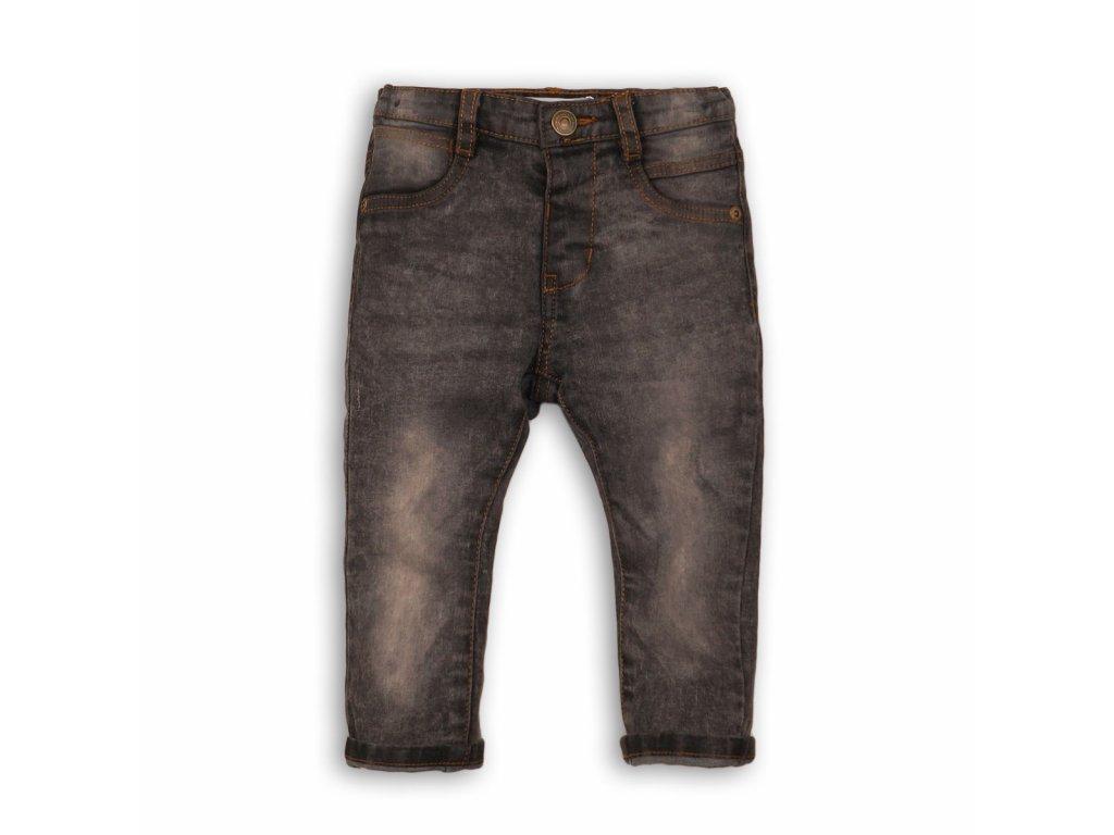 Kalhoty chlapecké džínové s elastenem Baby černá