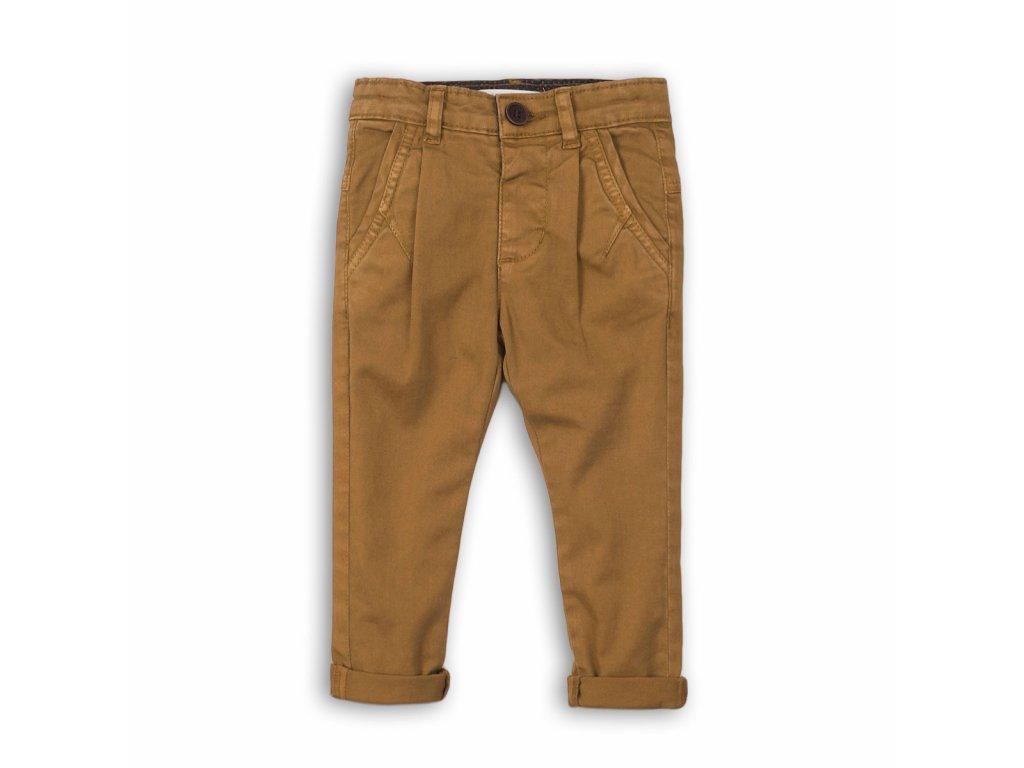 Kalhoty chlapecké Chino Kids hnědá