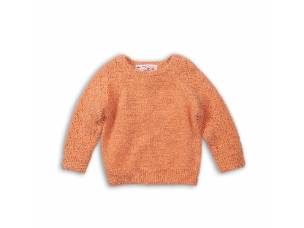 Svetr dívčí Baby oranžová