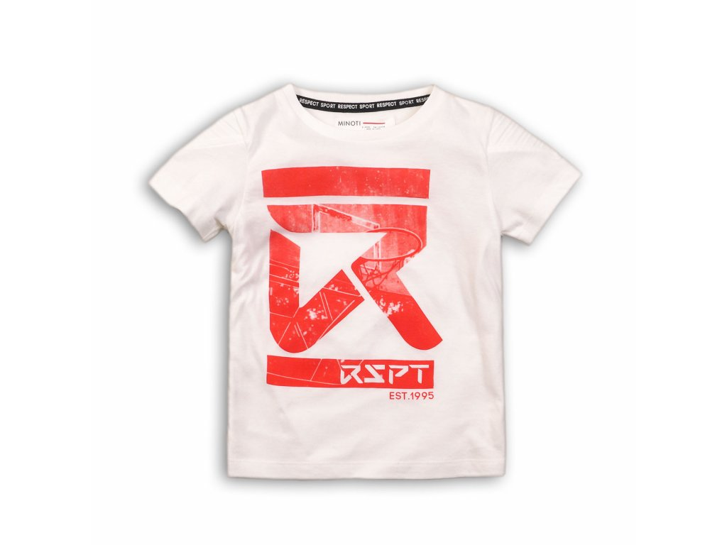 Tričko chlapecké s krátkým rukávem Kids bílá