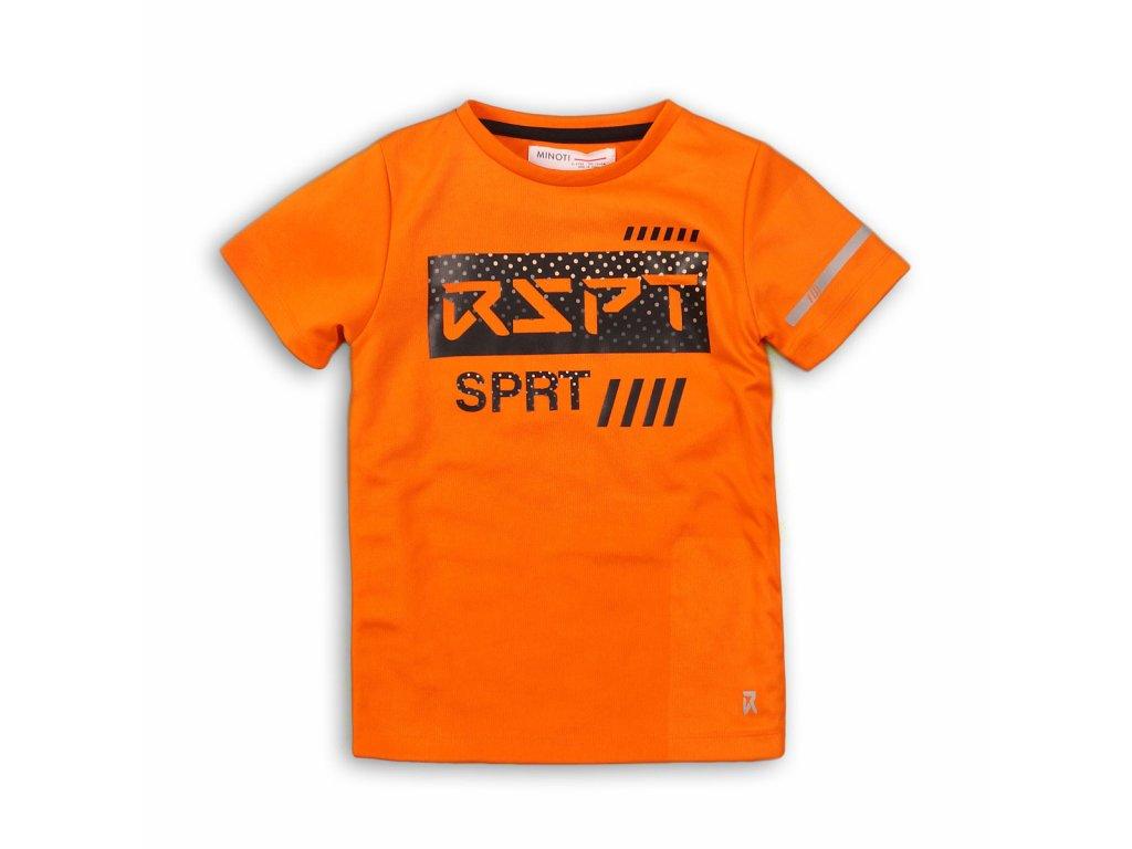 Tričko chlapecké s krátkým rukávem Junior oranžová