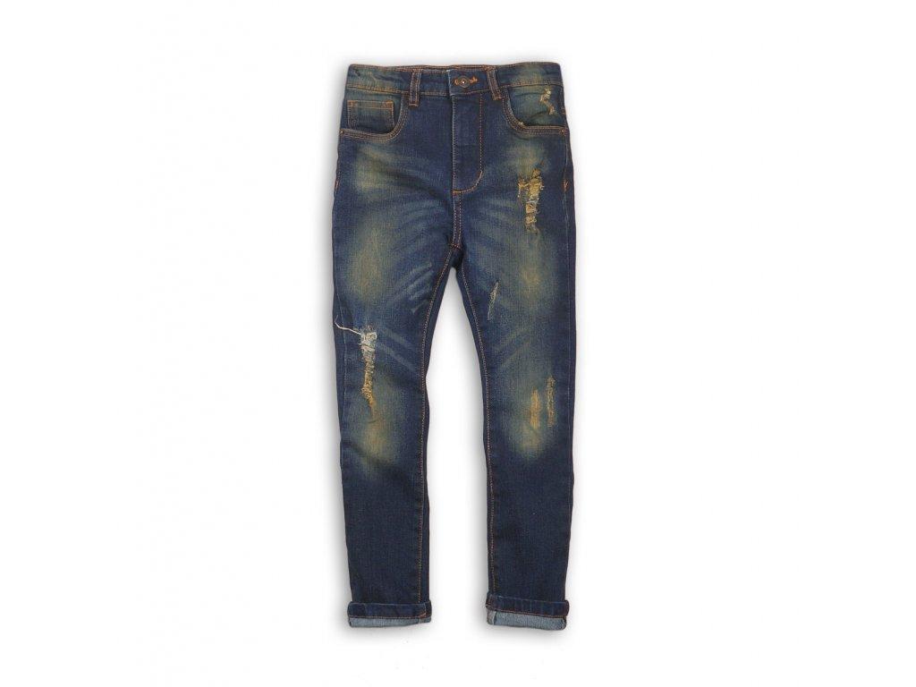Kalhoty chlapecké džínové s elastenem Junior kluk