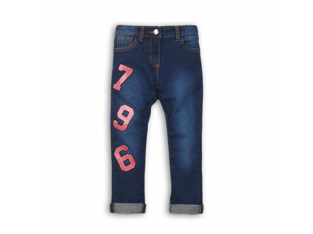 Kalhoty dívčí džínové s elastenem Junior holka