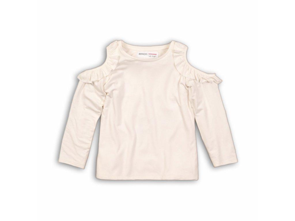 Tričko dívčí s dlouhým rukávem a holými rameny Kids holka
