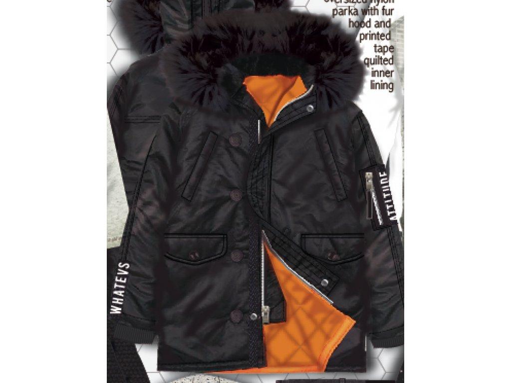 Kabát chlapecký Parka Kids černá