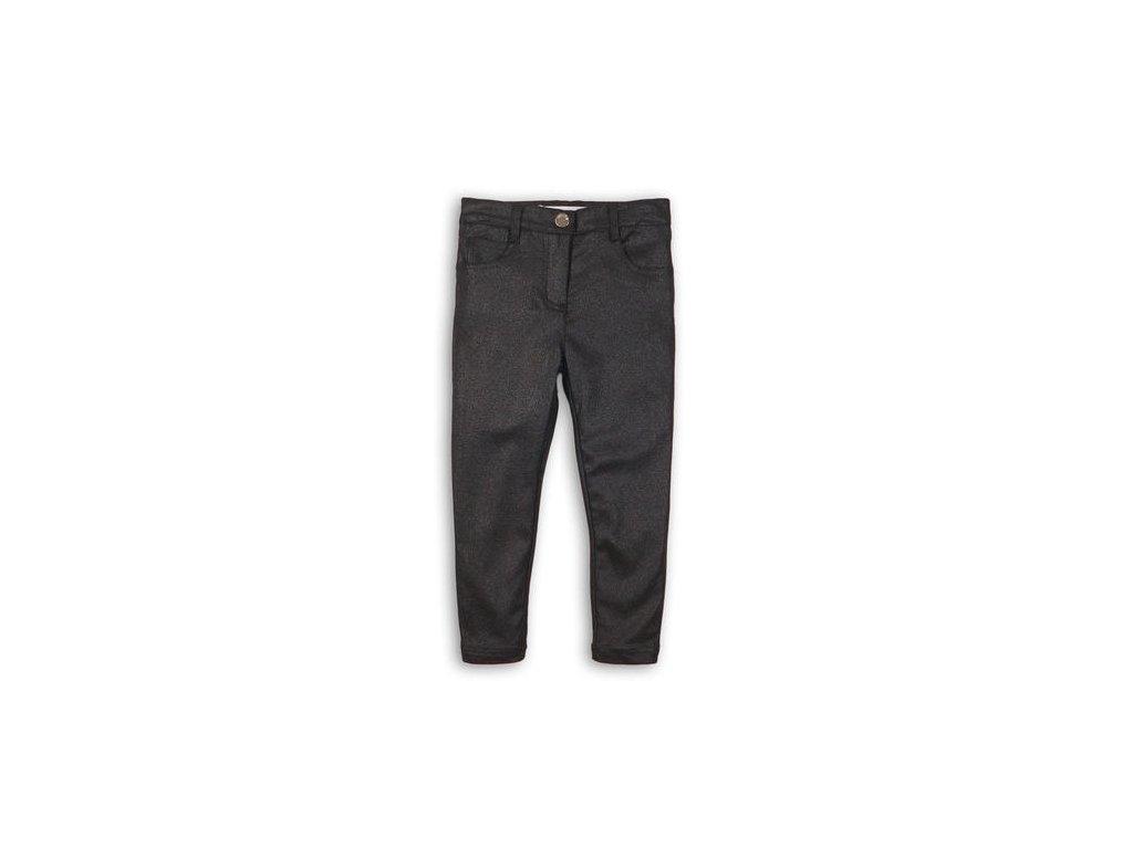 Kalhoty dívčí třpytivé s elastenem Kids šedá