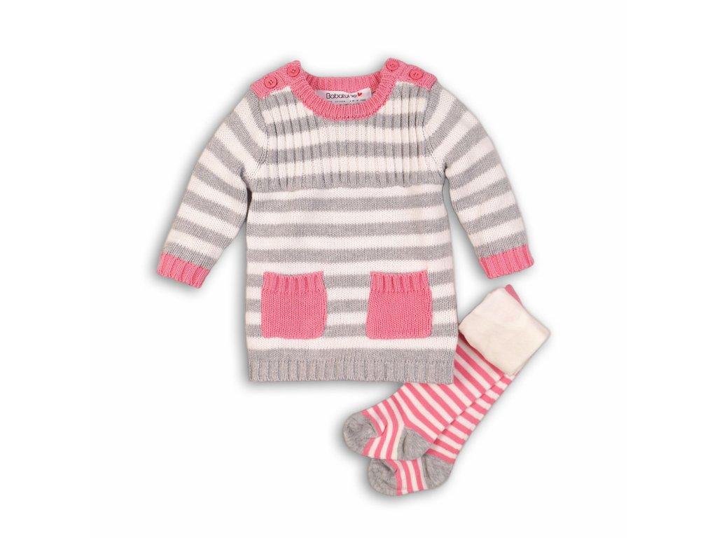 Dívčí set, svetr a punčocháče Baby holka