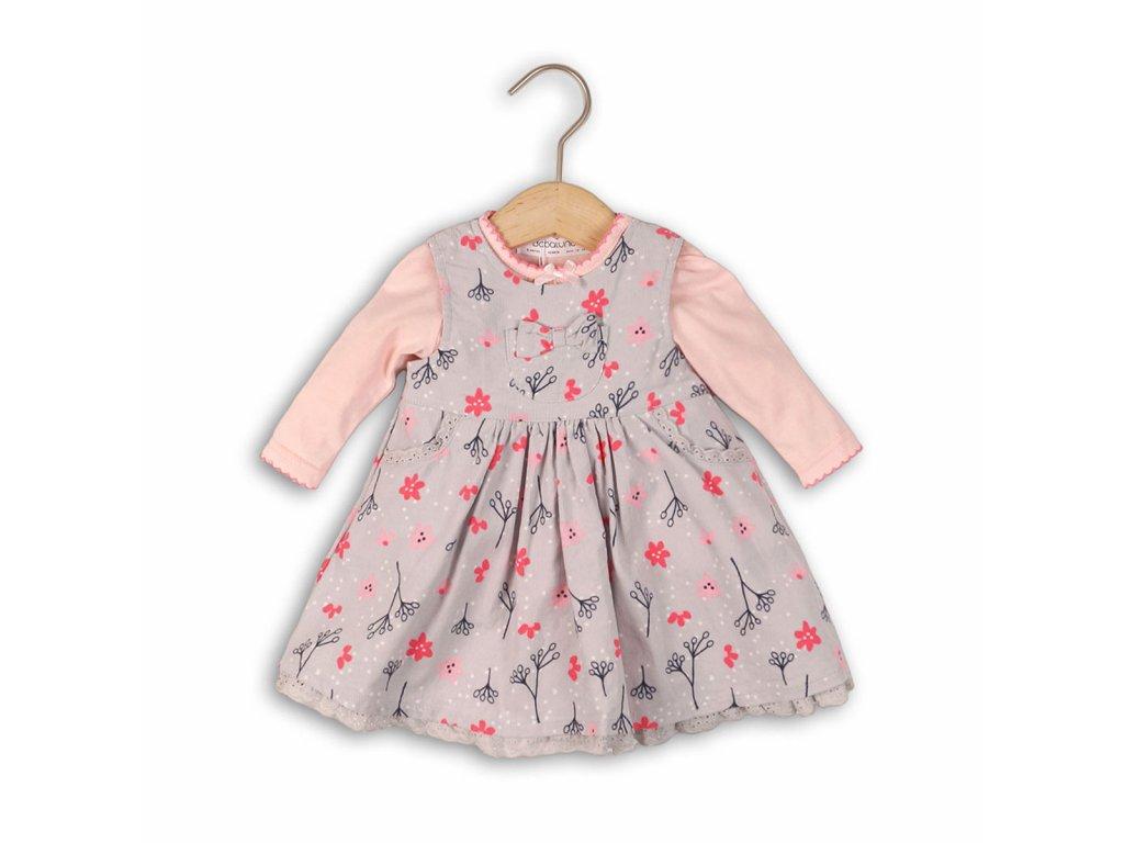 Dívčí set, šaty a body Baby holka