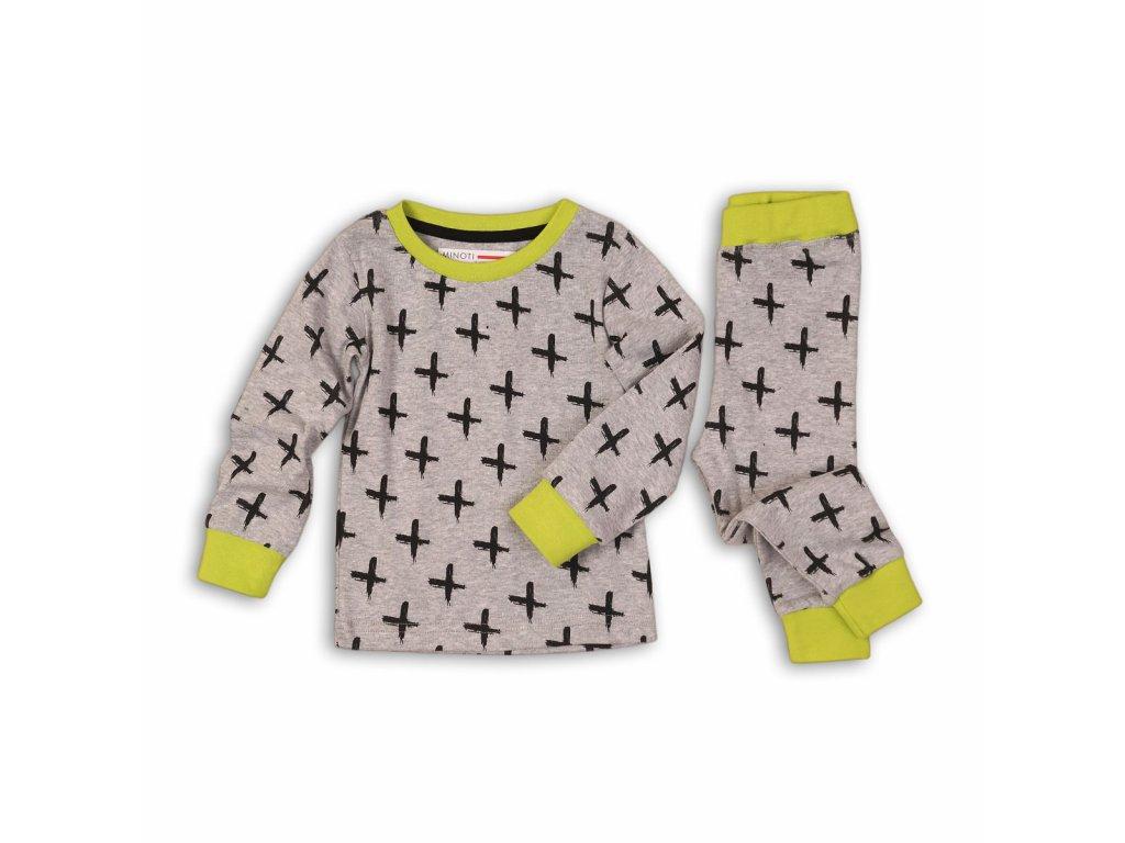 Pyžamo chlapecké Baby šedá