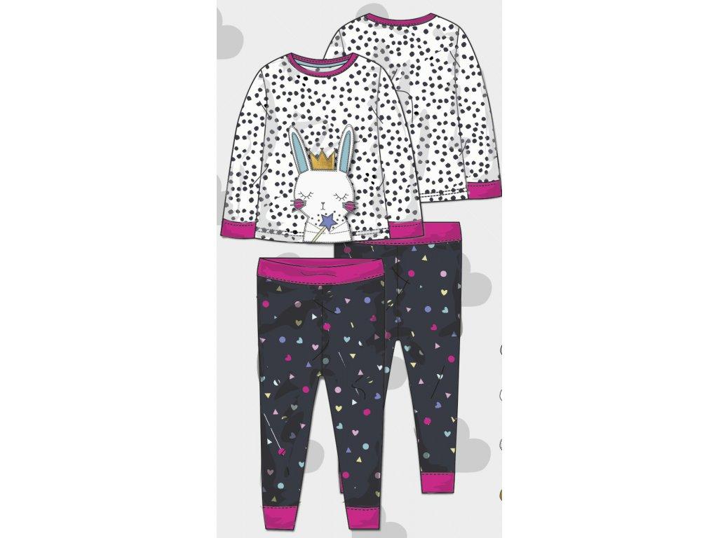 Pyžamo dívčí Baby holka