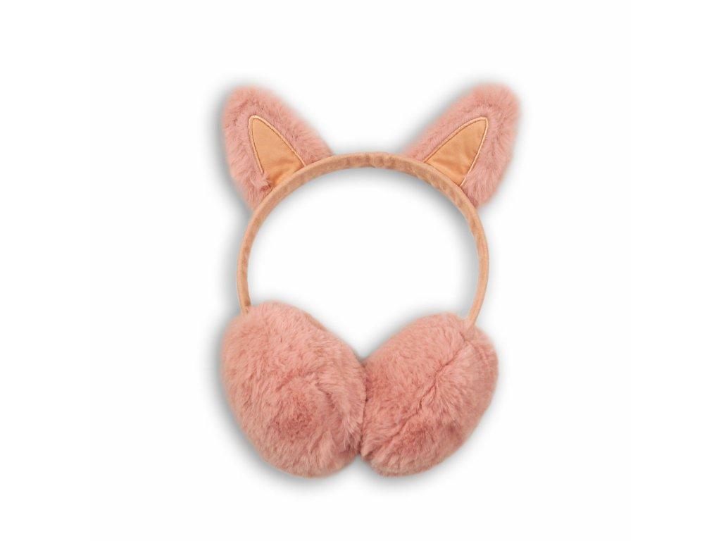 Klapky na uši dívčí Junior růžová