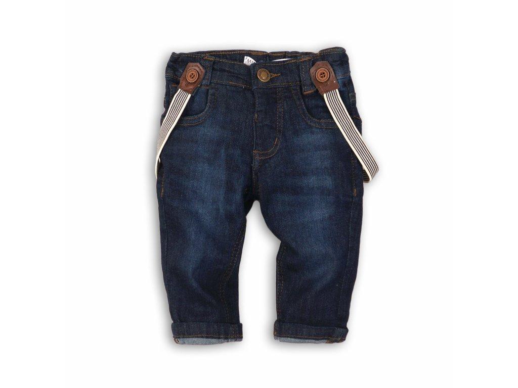 Kalhoty džínové se šlemi Kids modrá