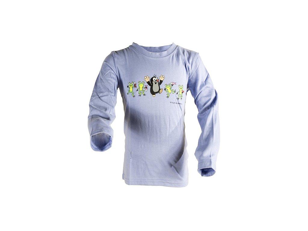 tričko chlapecké KRTEK FROG modrá