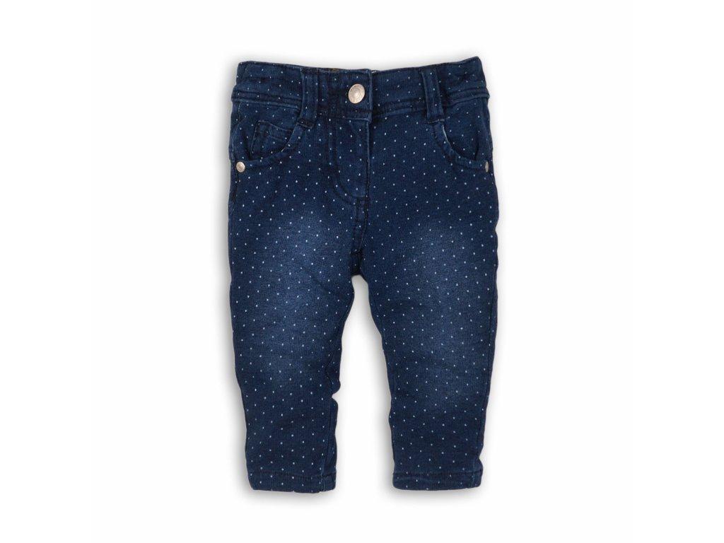 Kalhoty džínové dívčí Baby modrá