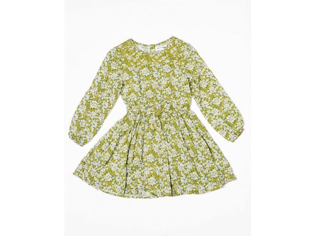 Šaty dívčí Baby zelená