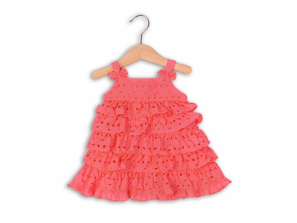 šaty letní a kalhotky Baby růžová