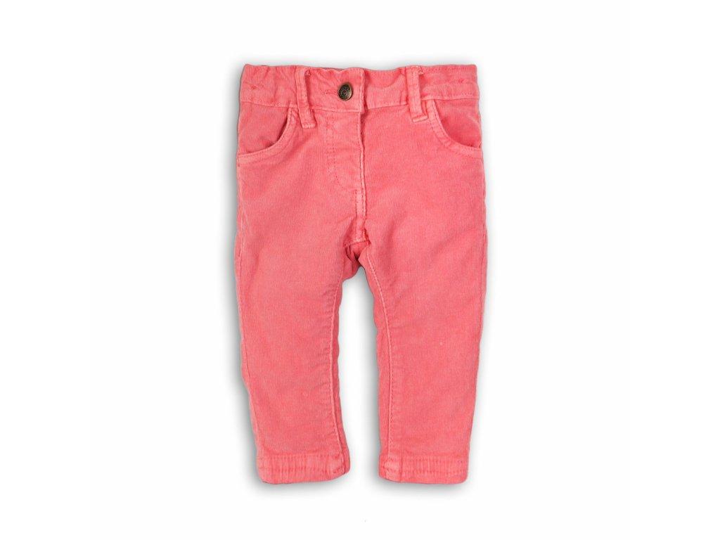 Kalhoty dívčí Baby růžová