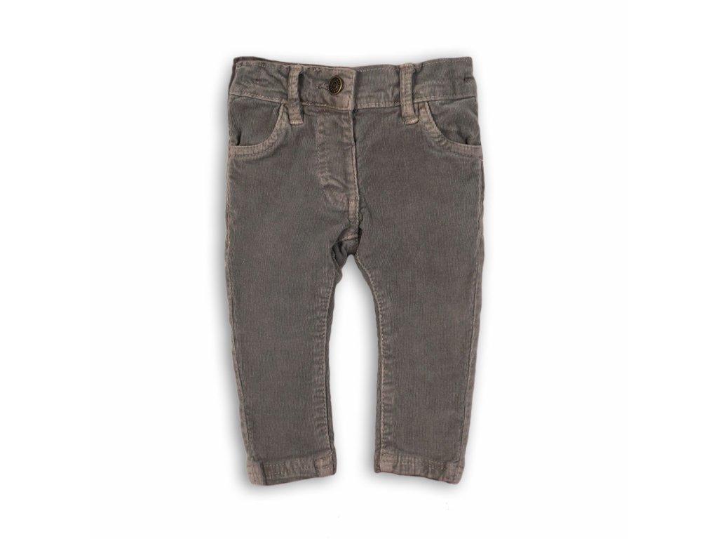 Kalhoty dívčí Baby šedá