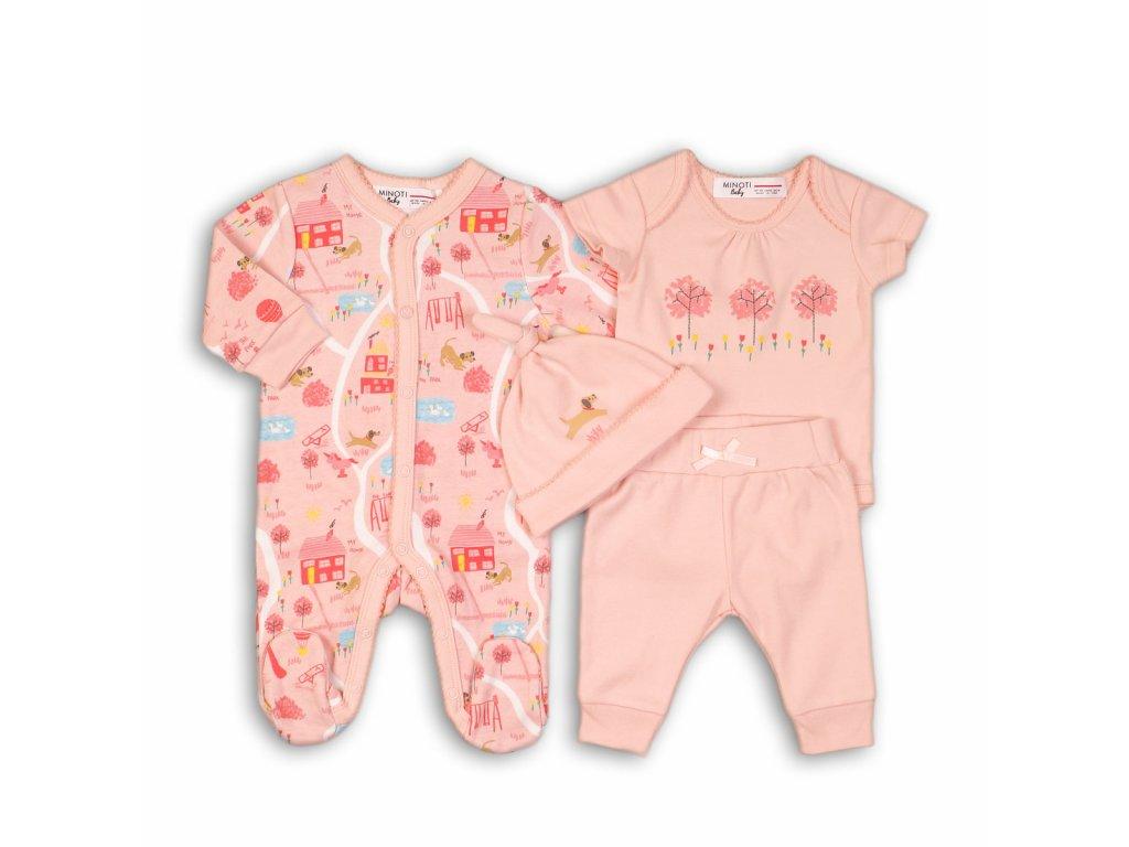 Dárkový set kojenecký Baby růžová