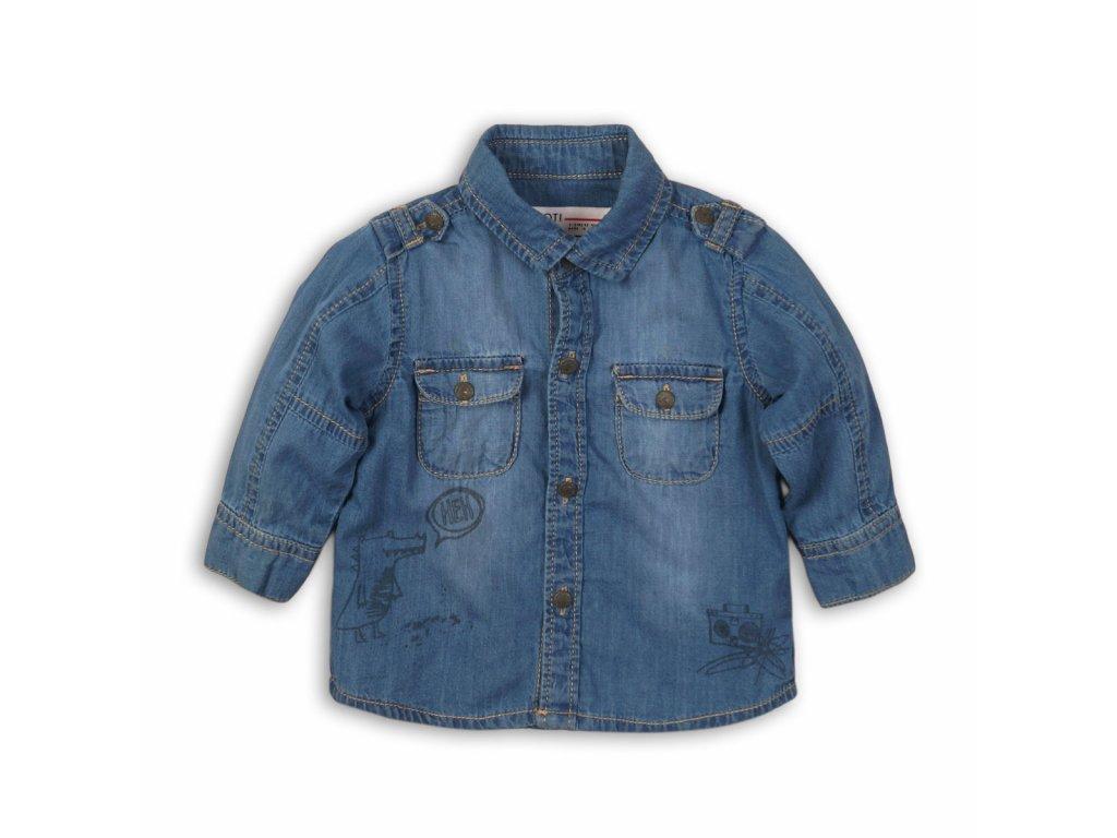 Košile chlapecká Baby modrá