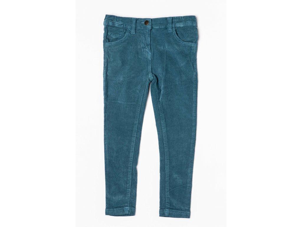 Kalhoty dívčí Junior tyrkysová
