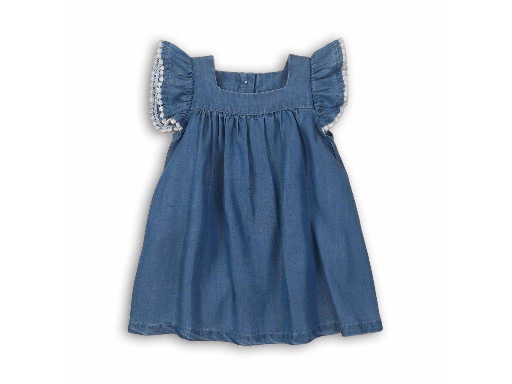 Šaty dívčí Baby modrá