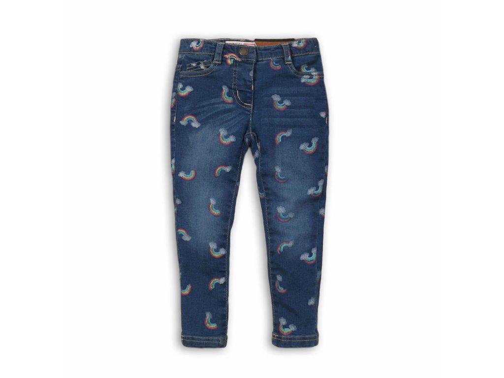 Kalhoty díčí džínové s elastenem Kids modrá