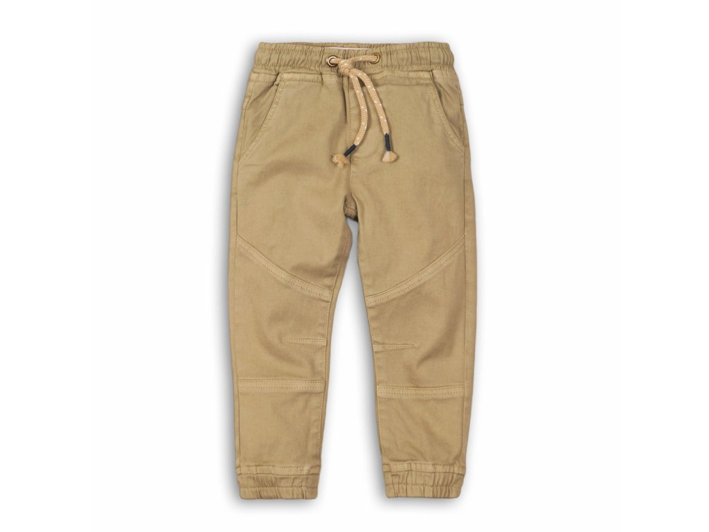 Kalhoty chlapecké Kids hnědá