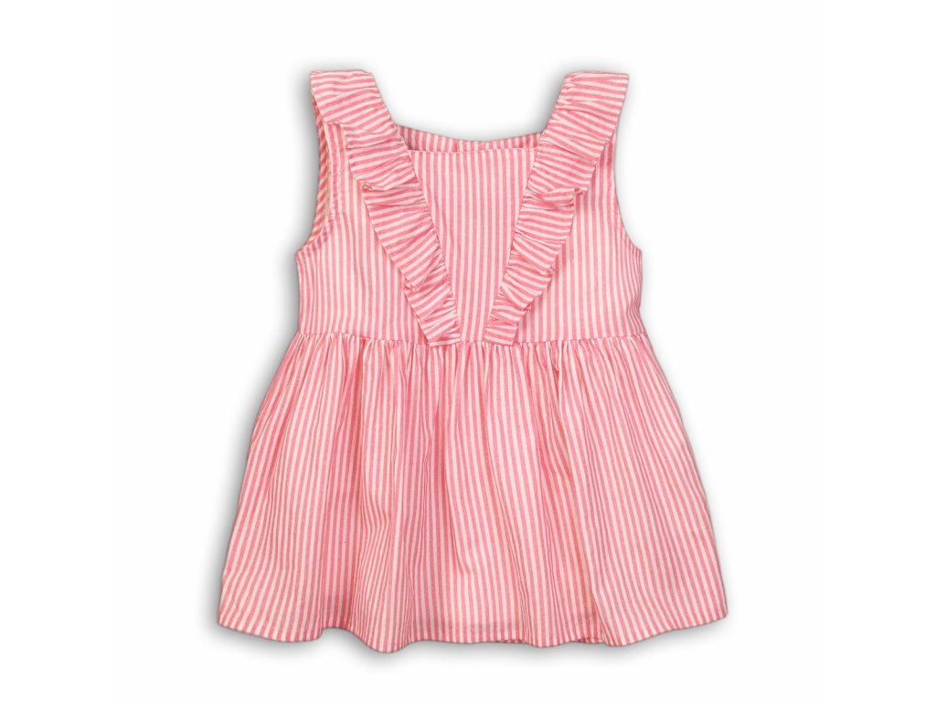 Tunika dívčí bavlněná Baby růžová