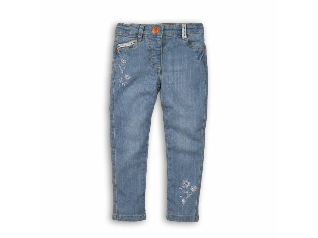 Kalhoty díčí džínové s elastenem Baby modrá