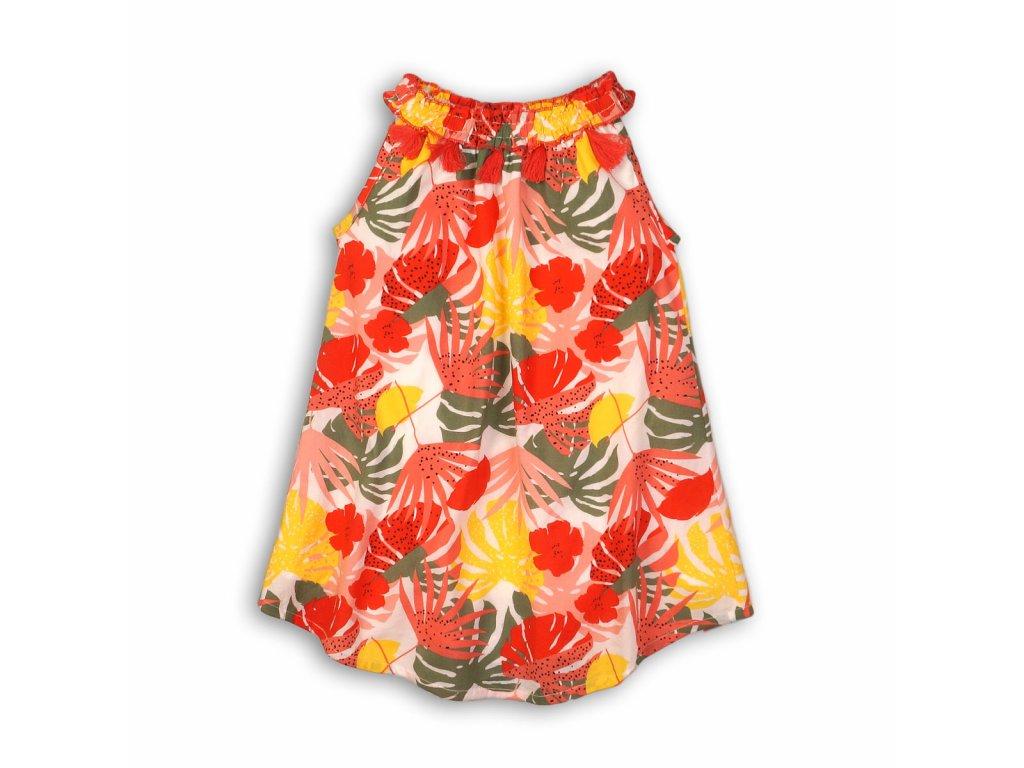 Šaty dívčí bavlněné Baby holka