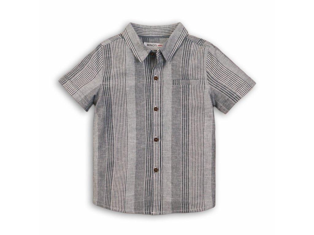 Košile chlapecká Baby šedá