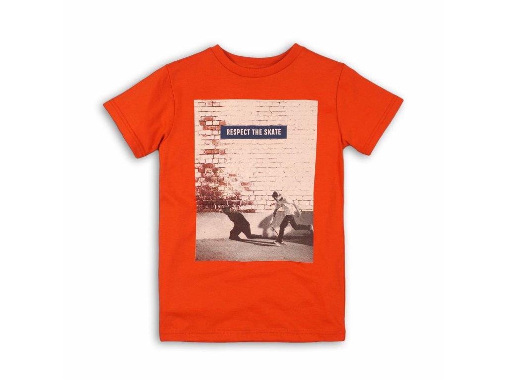 Tričko chlapecké s krátkým rukávem Kids červená