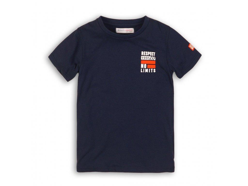 Tričko chlapecké s krátkým rukávem tmavě modrá
