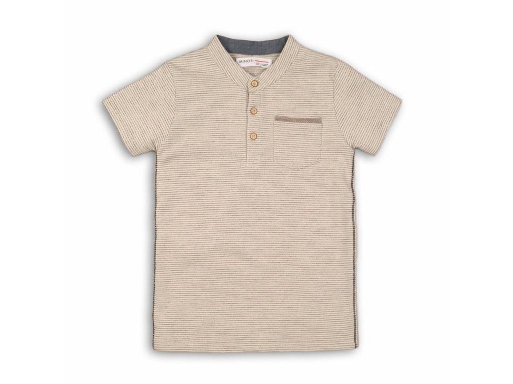 Tričko chlapecké s krátkým rukávem Junior béžová