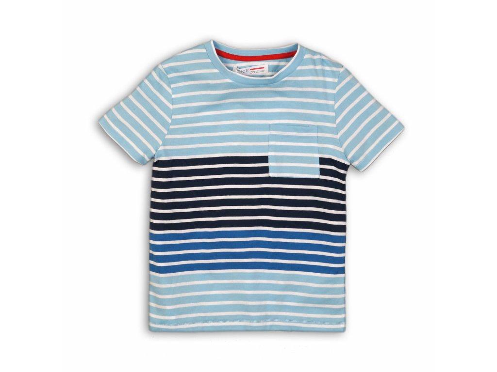 Tričko chlapecké s krátkým rukávem Junior modrá