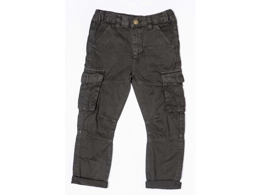 Kalhoty chlapecké Baby šedá