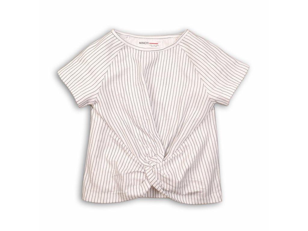 Tričko dívčí s krátkým rukávem Junior bílá