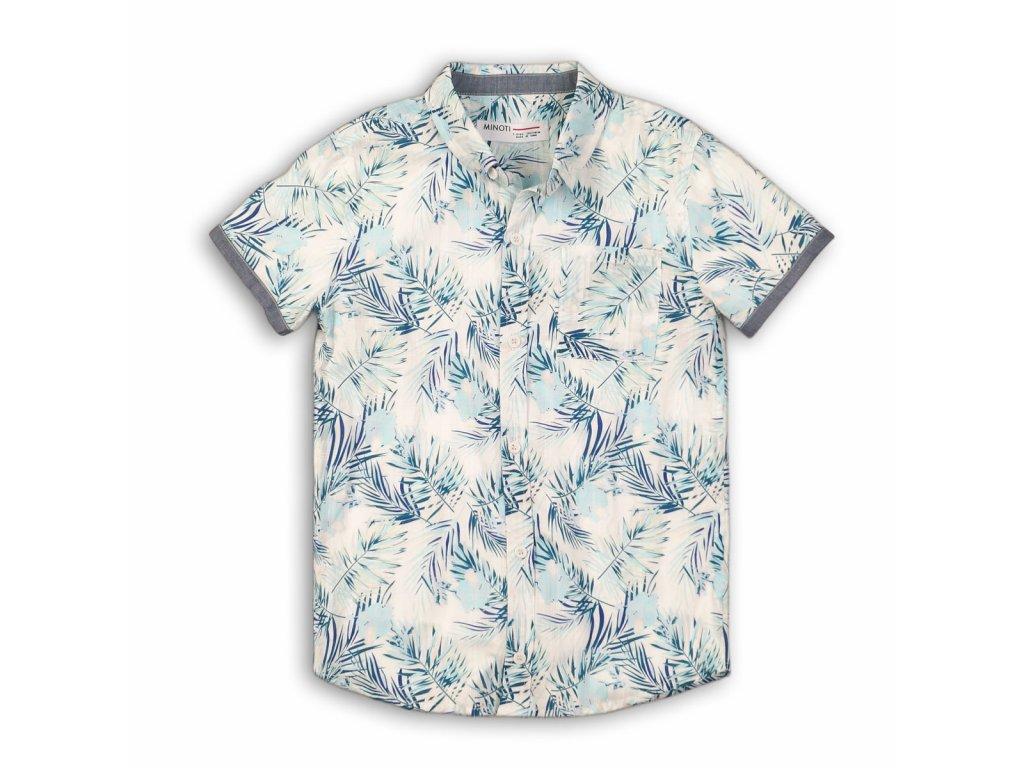 Košile chlapecká Junior světle modrá