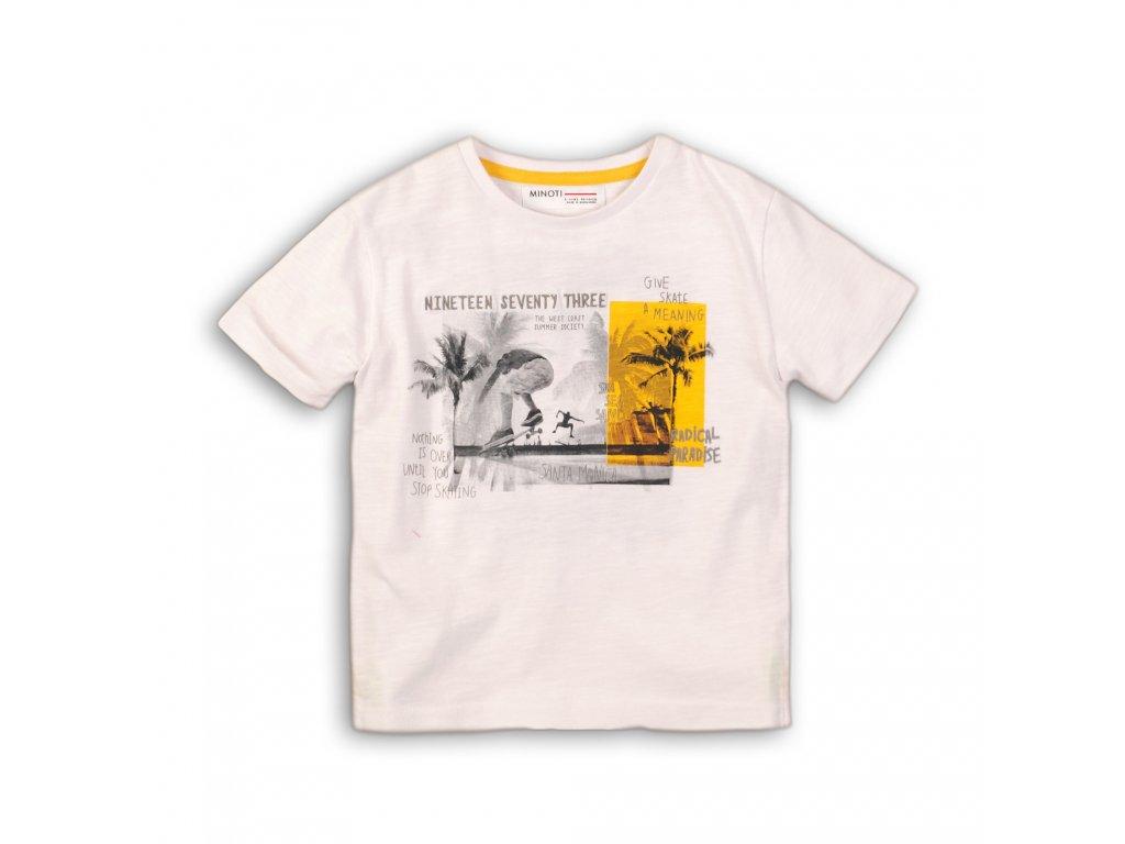 Tričko chlapecké s krátkým rukávem Junior bílá