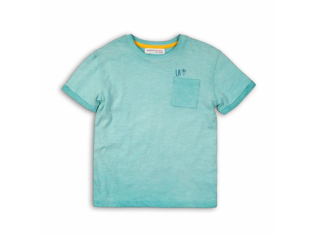 Tričko chlapecké s krátkým rukávem Kids tyrkysová