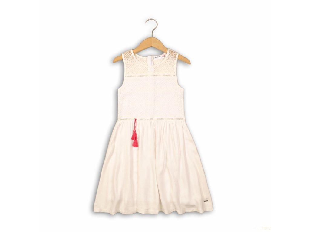 Šaty dívčí Kids bílá