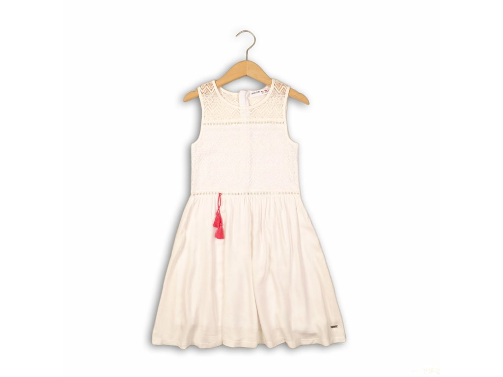 Šaty dívčí Junior bílá