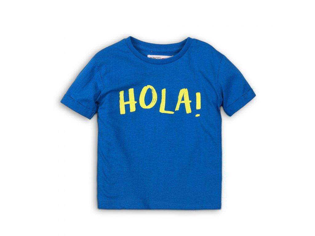 Tričko chlapecké s krátkým rukávem Baby modrá